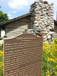 Fort Alexandria sign