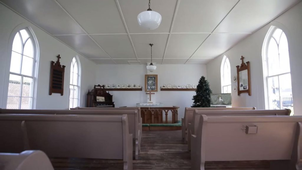 Church from video
