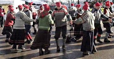 norwegian dancers